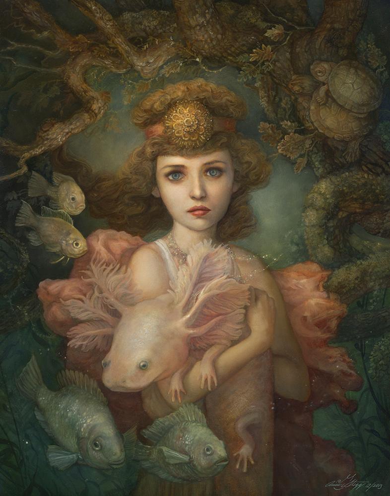 Annie Stegg -- Lilaia the Naiad