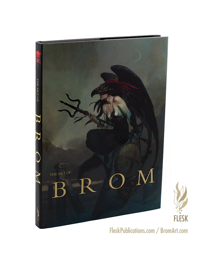 The Art of Brom publisher edition fantasy cover