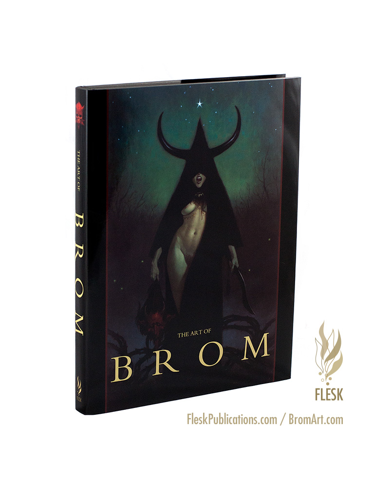 The Art of Brom publisher edition nude cover