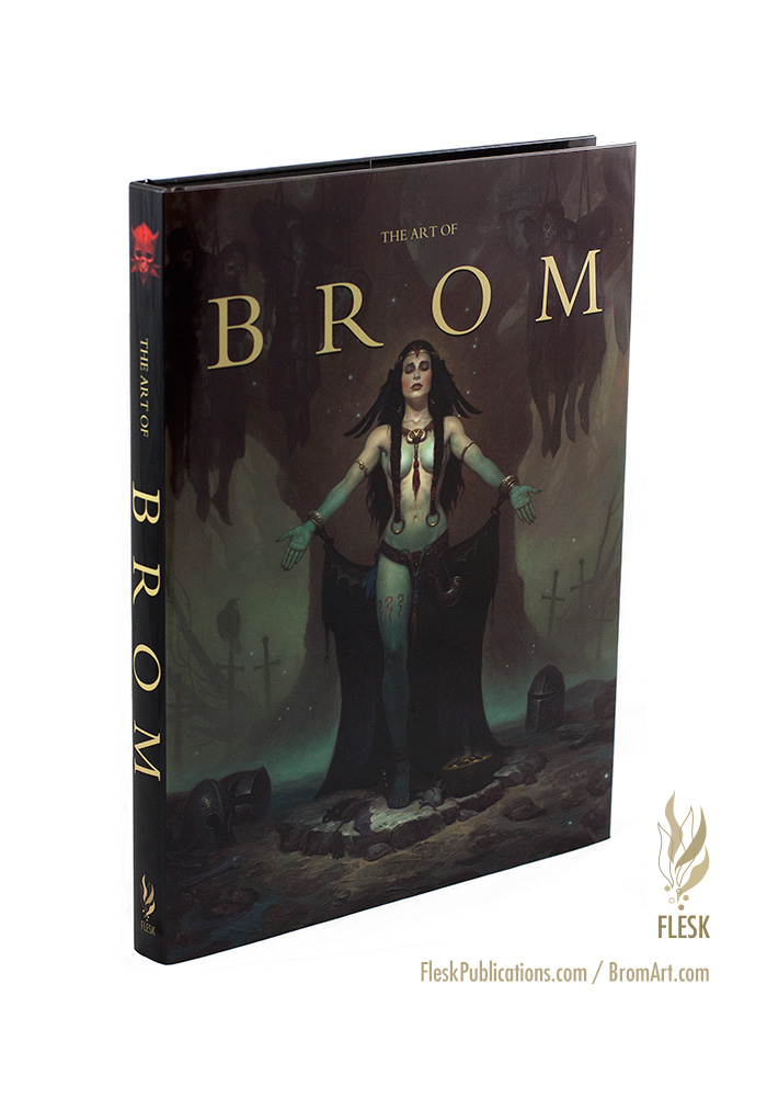 The Art of Brom trade edition