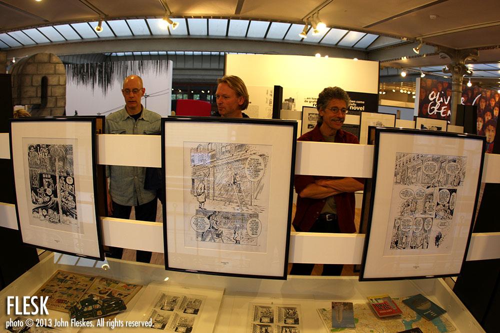 Mark Schultz, Mark Theloson and Thomas Yeates
