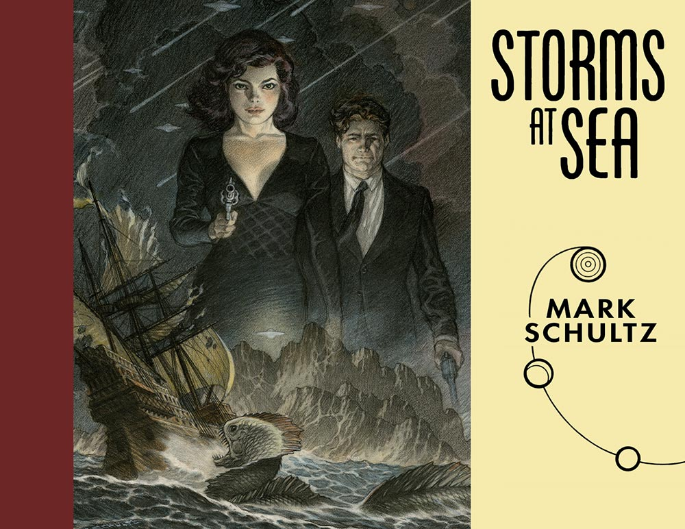 Storms at Sea by Mark Schultz!