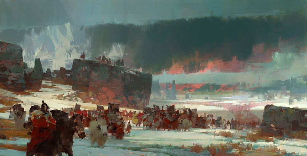 Theo Prins -- Refugees
