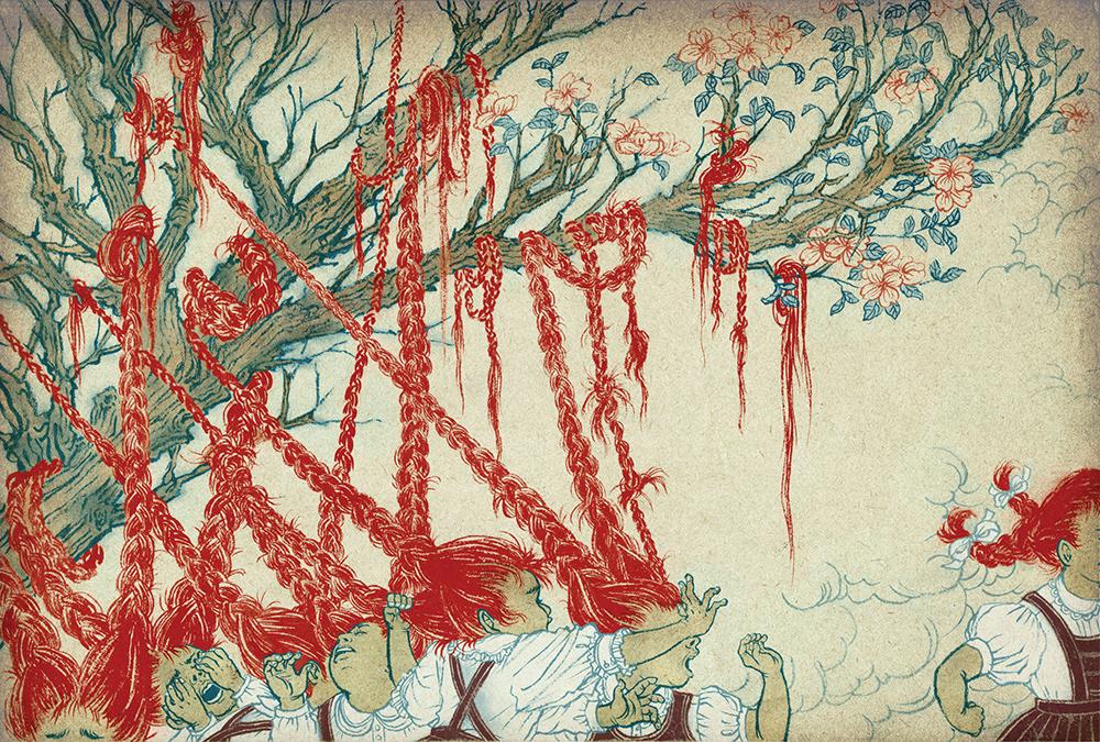 Yuko Shimizu -- Hair Tree
