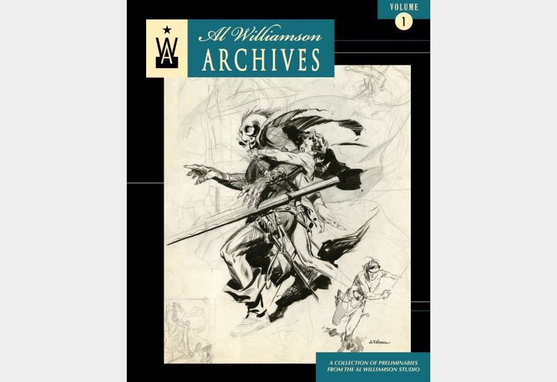 Al Williamson Archives volumes 1 and 2 are 25% off and you get free shipping!